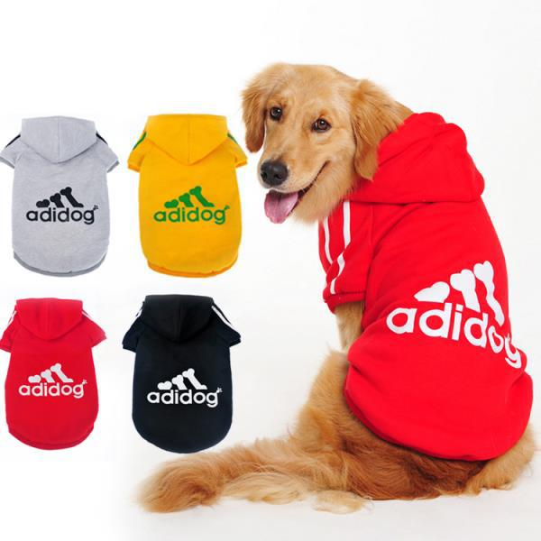 DOG CLOTHES JACKET WITH HOODIE